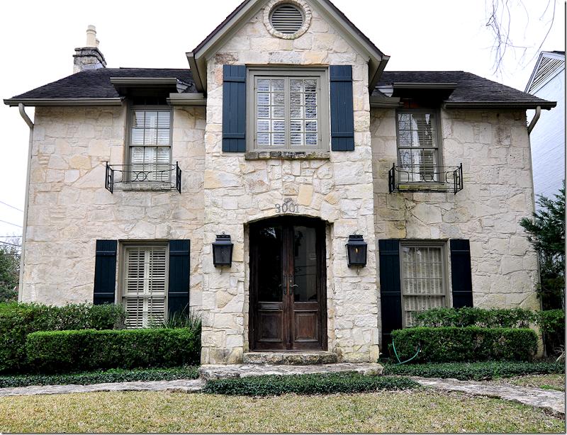 Cote de texas the stone house for The austin house