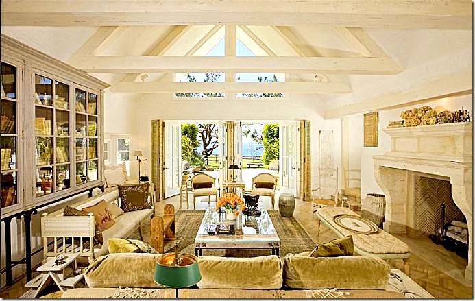 Wood Walls In Living Room