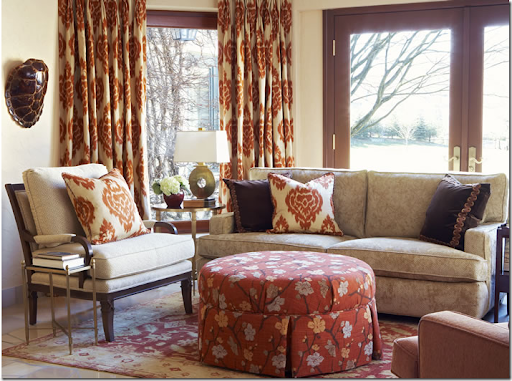 The Spice Kalah Ikat From Calico Corner Is A Dead Ringer For The Much More  Expensive Lee Jofa Ikat.
