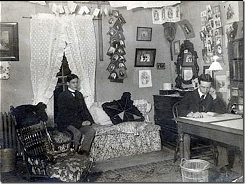 Elegant Dorm Rooms Were Not Always As Boring As They Are Today. This Dorm Room From  The Turn Of The Century Actually Resembles Maxu0027s Above. Part 23