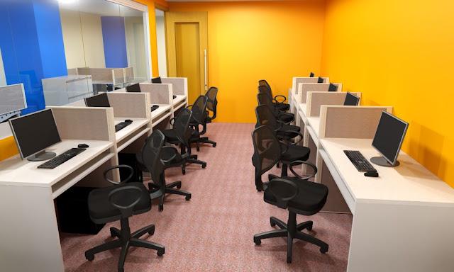 contact center interior design