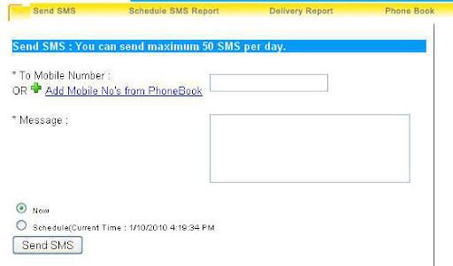 How to send bulk free SMS text message in India | 400+