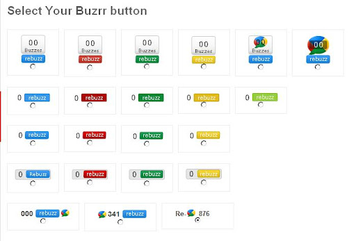 custom buttons pretty buzz buttons from buzrr.com image tweetmene vs burr buzz vs twitter, buzrr vs tweetmene
