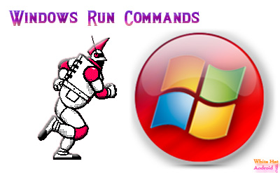 Windows run command shortcut Cheat Sheet Image