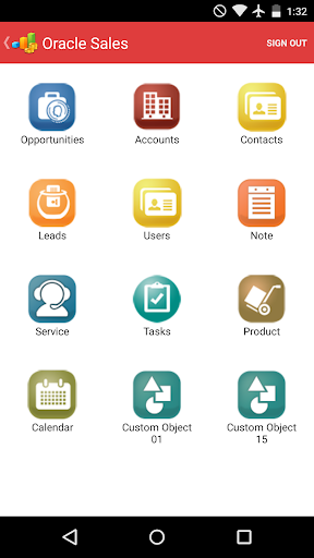 CRM On Demand Connected Mobile