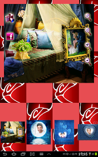 Romantic Photo Frames Collage - náhled