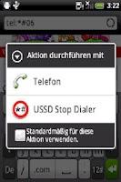 Screenshot of USSD Stop Dialer