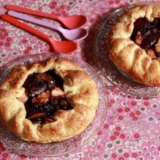Plum-Apple Galette Recipe