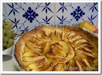 tarte aux pommes du dimanche