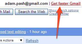 faster-gmail