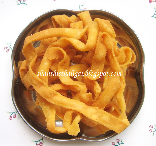 HOW TO MAKE RIBBON PAKODA, HOW TO MAKE OATU PAKODA
