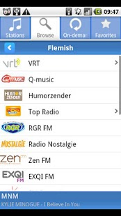 Radio.be - screenshot thumbnail