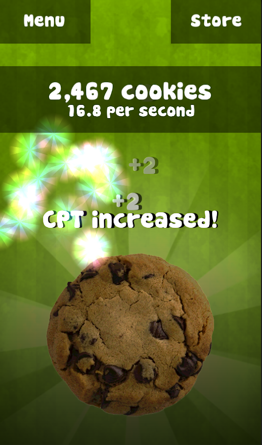 Cookie Tapper- screenshot