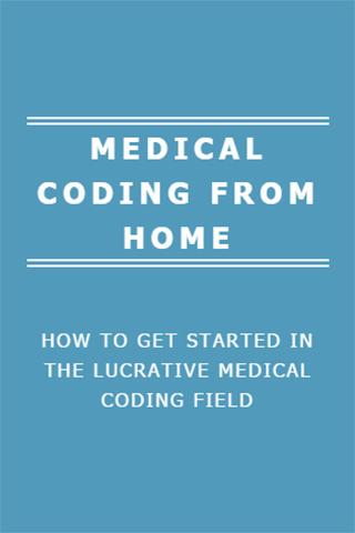 MEDICAL CODING FROM HOME