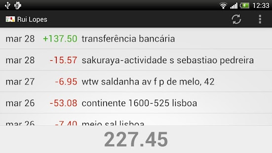 cartão à la card - screenshot thumbnail