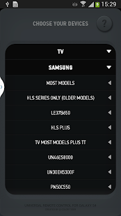 Smart IR Remote for Galaxy S4 - screenshot thumbnail