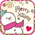 Cute wallpaper★Merry Xmas icon