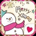 Cute wallpaper★Merry Xmas icon