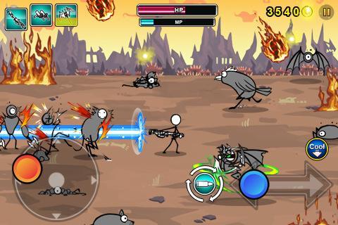 Cartoon Wars: Gunner+  screenshots 4