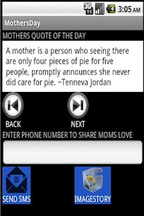 Share Moms Love- screenshot thumbnail