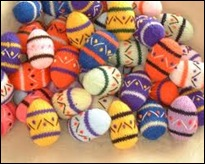 Crocheted Eggs 10