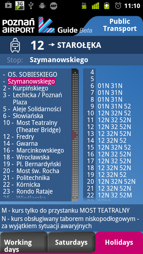 Poznań Airport Guide- screenshot
