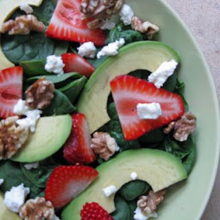Springtime Spinach Salad with a Twist.