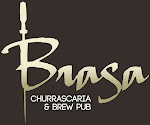 Logo for Brasa Churrascaria and Brewpub