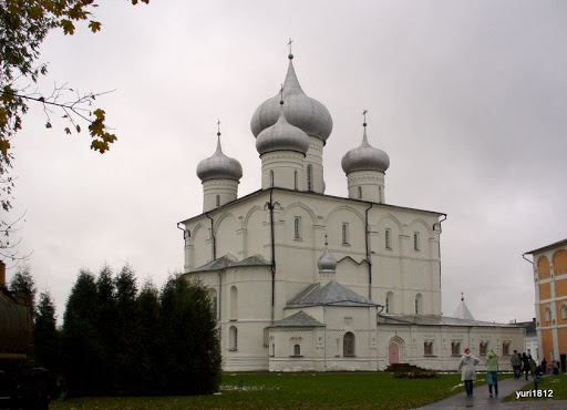 Хутынский Спасо-Преображенский монастырь Спасо-Преображенский собор фото yuri1812