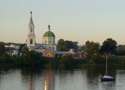 Church on the Volga St. Catherine's convent, Tver фото yuri1812