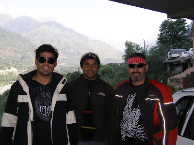Ready for departure from Manali