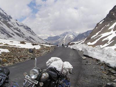 Ascent to baralacha La