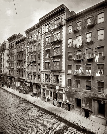 New York City Apartment Streets: Anthropology In Practice: The Five Points Then And Now