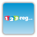 123-reg Domains App icon