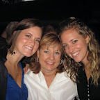Me, my mom, and sister Taylor. Favorite women on the planet, seriously.