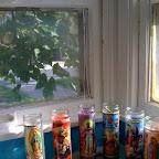 Over Sink Window with Mini-Shrine