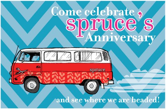 Spruce's Third Anniversary