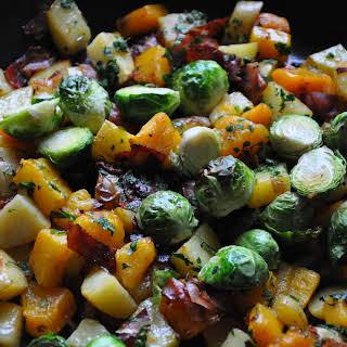 Autumn Vegetable Hash.