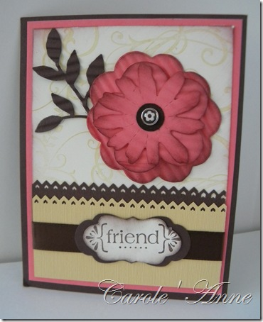 Carole Anne and flower for all Seasons 002
