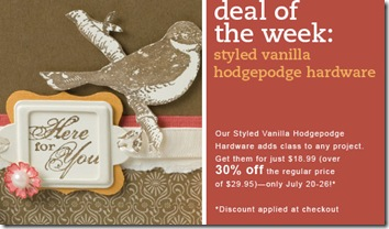 Deal of the week Hodgepodge