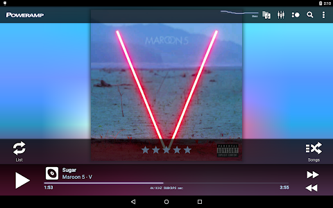 Poweramp Music Player (Trial) v2.0.10-build-565