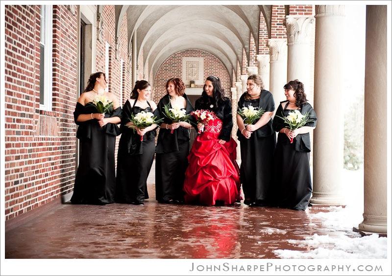 Nazareth Chapel NorthWestern College Wedding