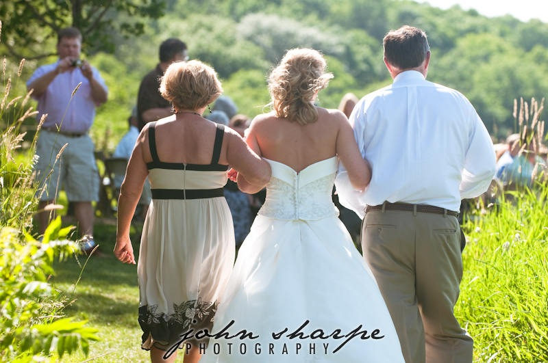 Gale Woods Farm Wedding Ceremony Photographer