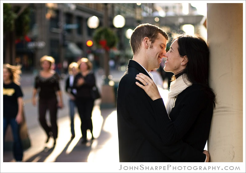 Minneapolis Fall Wedding Engagement Photography