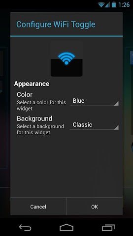 Screenshots for Clean Widgets
