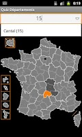 Screenshot of Quiz French Departements