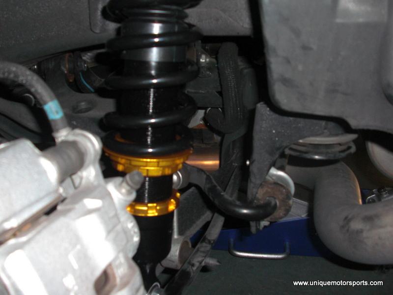 2009 WRX Coilover Install – Unique Motorsports