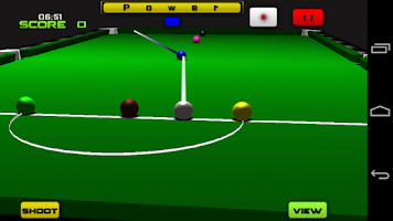 Screenshot of Snooker 3D