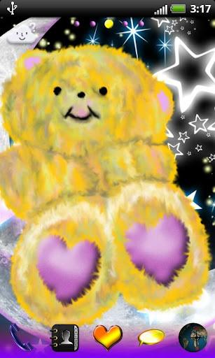 Go Launcher EX Cute Teddy Bear
