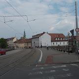 Nadjazd nad Staromestkou, zákaz vjazdu všetkých vozidiel okrem MHD.